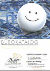 Bürobedarf-Katalog Müller Kastellaun Hunsrück